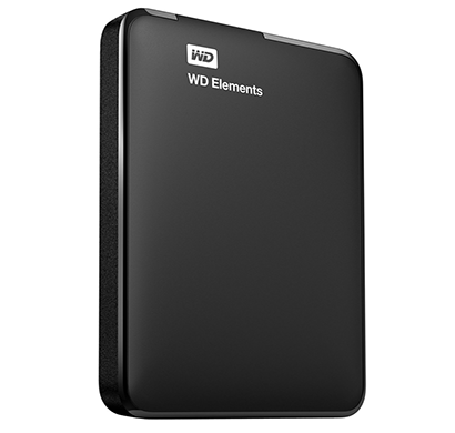 WD 500GB Elements Portable External Hard Drive - USB 3.0 Black